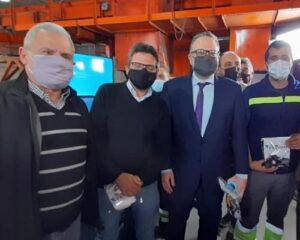 Encuentro entre cooperativas de reciclado y el ministro Kulfas